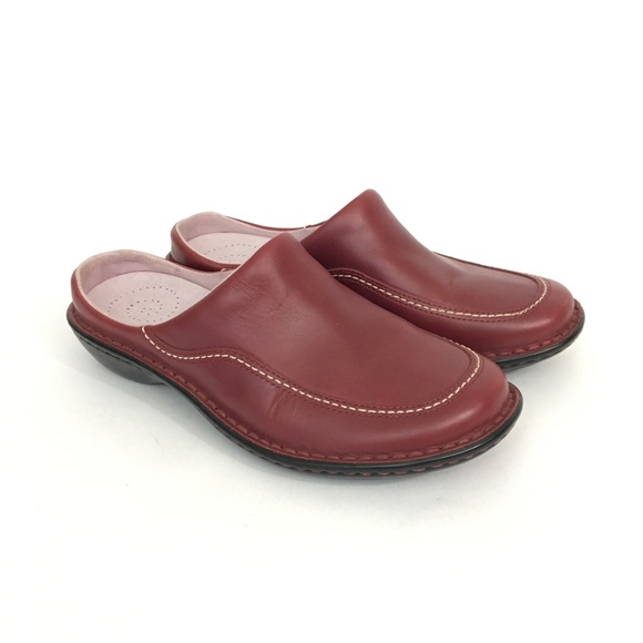 Red Wing Size 6 Mules Slip On Sandals